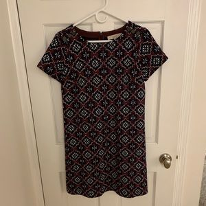 Thick, short sleeved LOFT dress. Perfect for fall!